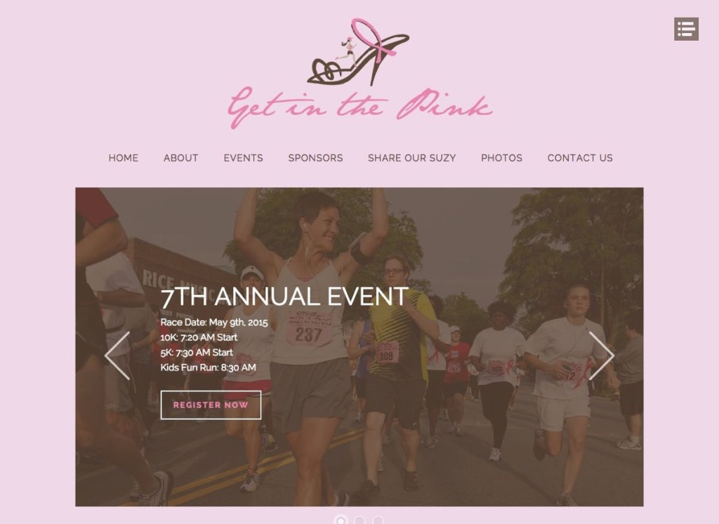 Get in the Pink Local Charity Race In partnership with HLJCreative