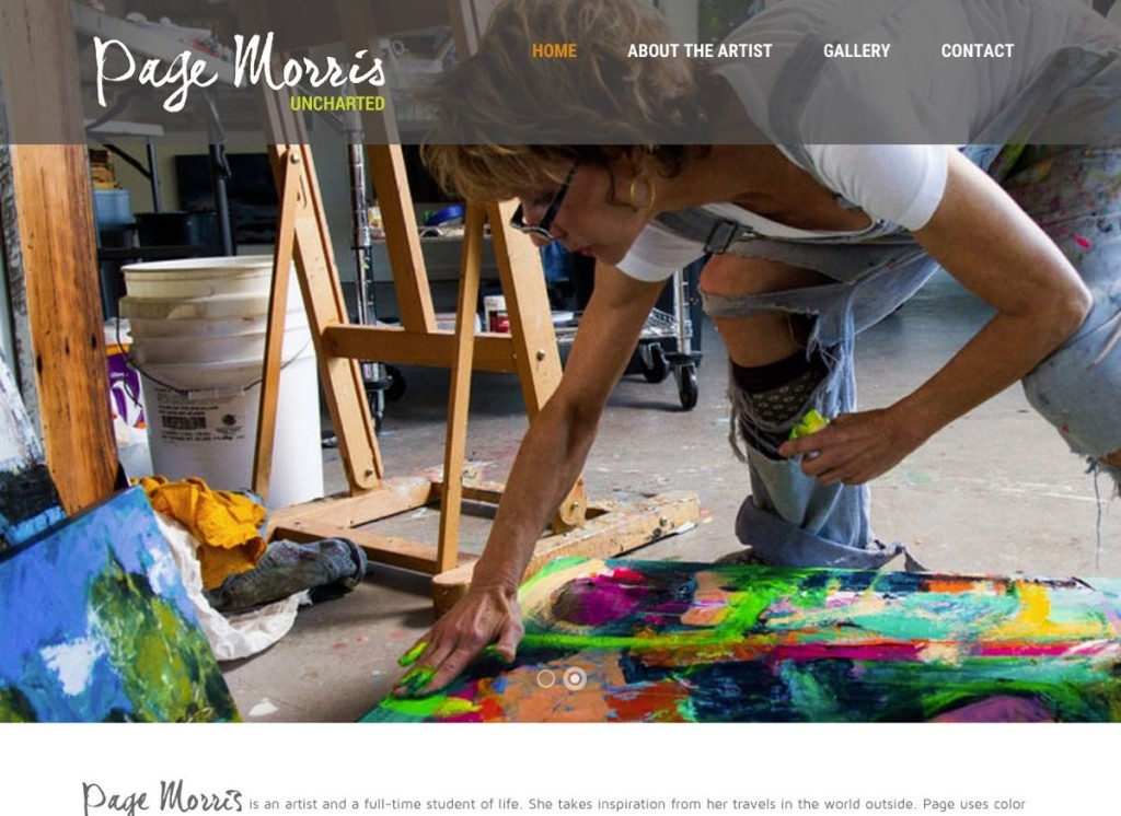 Page Morris Local Painter In partnership with HLJCreative
