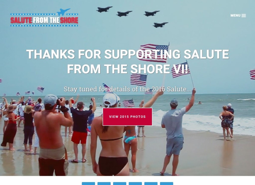 Salute from the Shore Non-profit Organization In partnership with HLJCreative