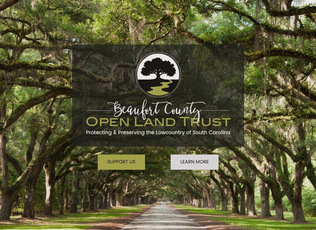 Beaufort County Open Land Trust - Social Spark Media Website