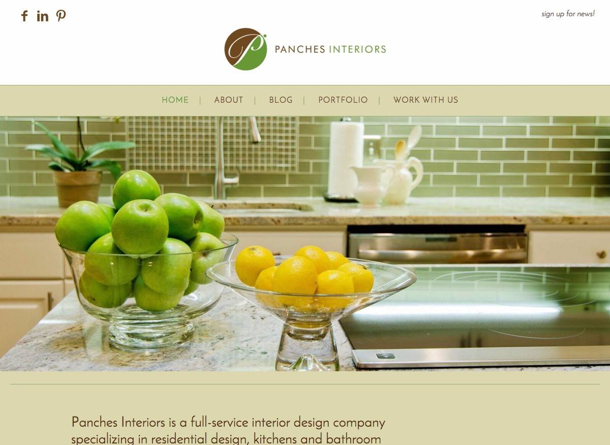 Panches Interiors - Social Spark Media Website