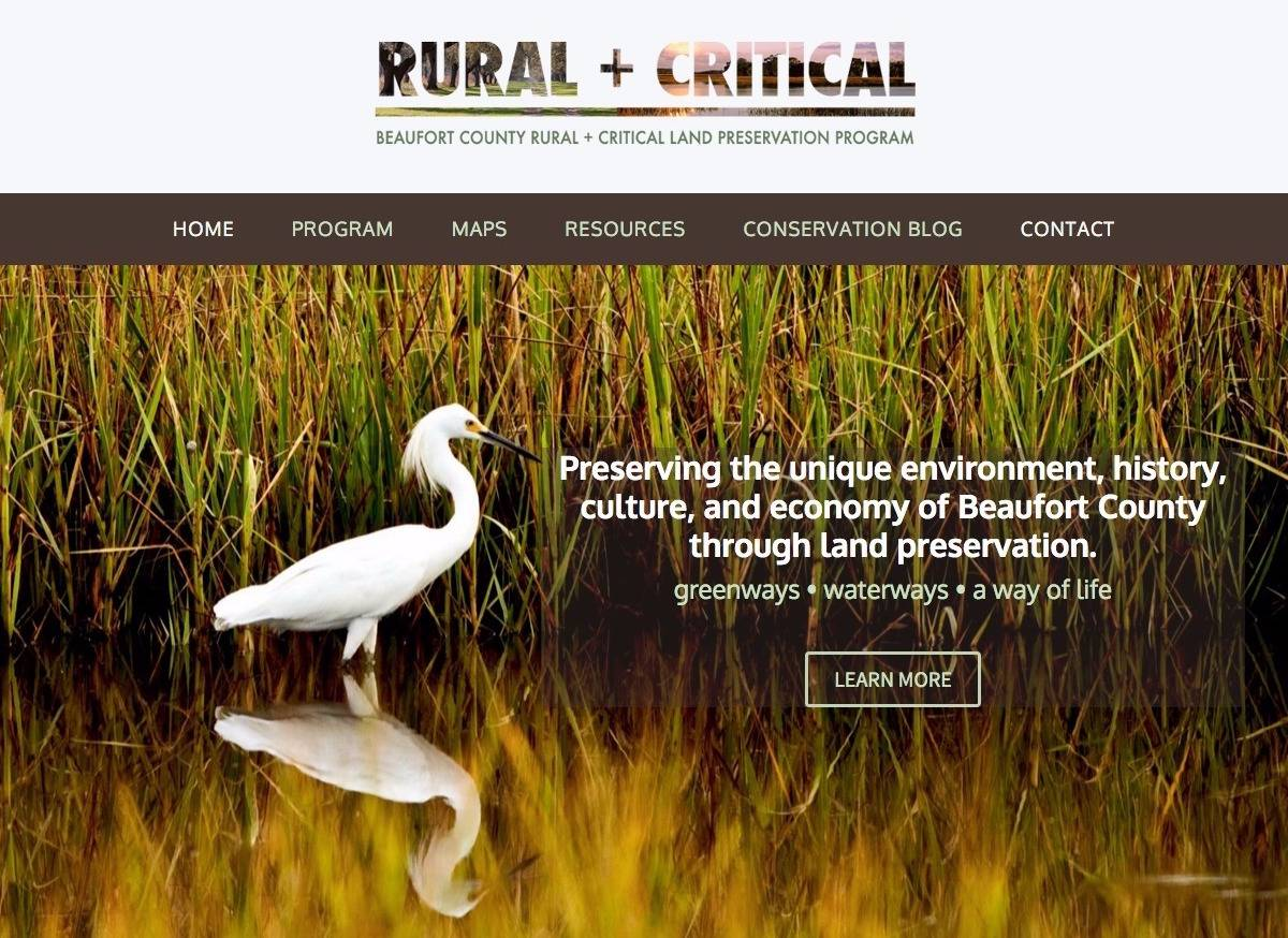 Rural and Critical - Social Spark Media Website