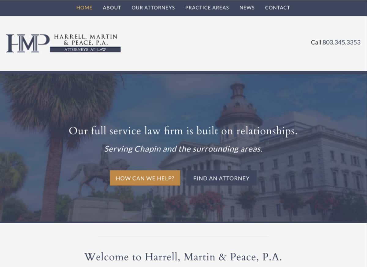 Harrell, Martin & Peace, Attorneys at Law