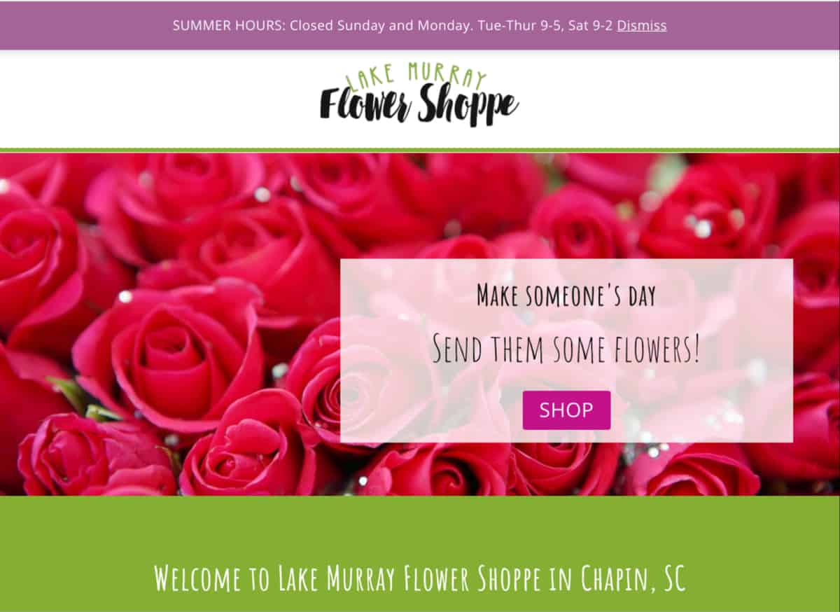 Lake Murray Flower Shoppe