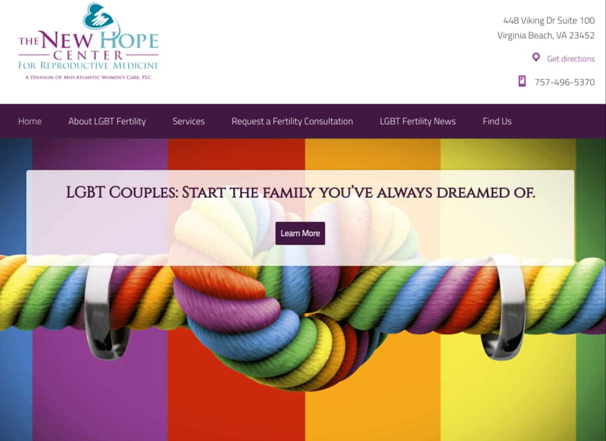 The New Hope Center - LGBT Fertility