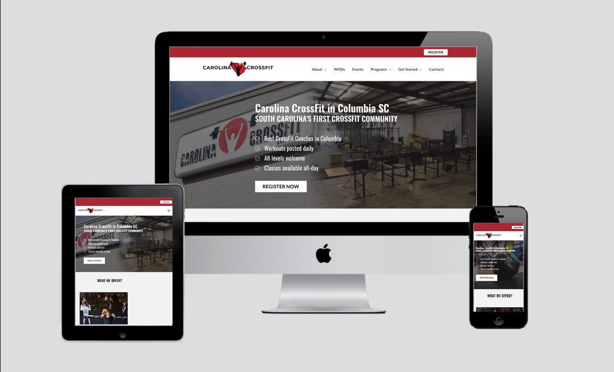 Carolina Crossfit Website